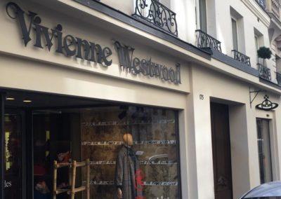Enseigne Vivienne Westwood