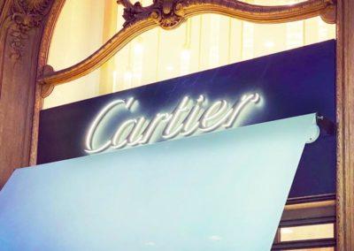 Enseigne Cartier